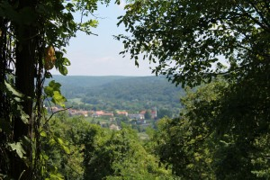 Bafa uitzicht dorp